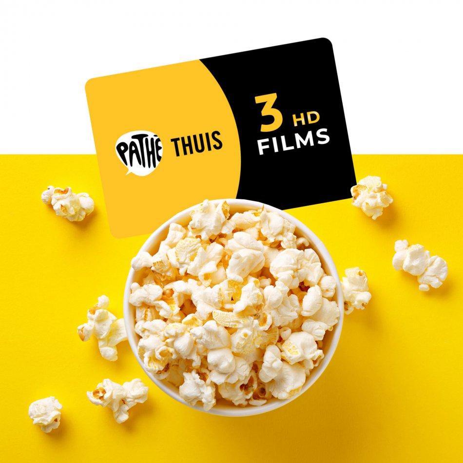 Pathé Thuis 3 films E-voucher