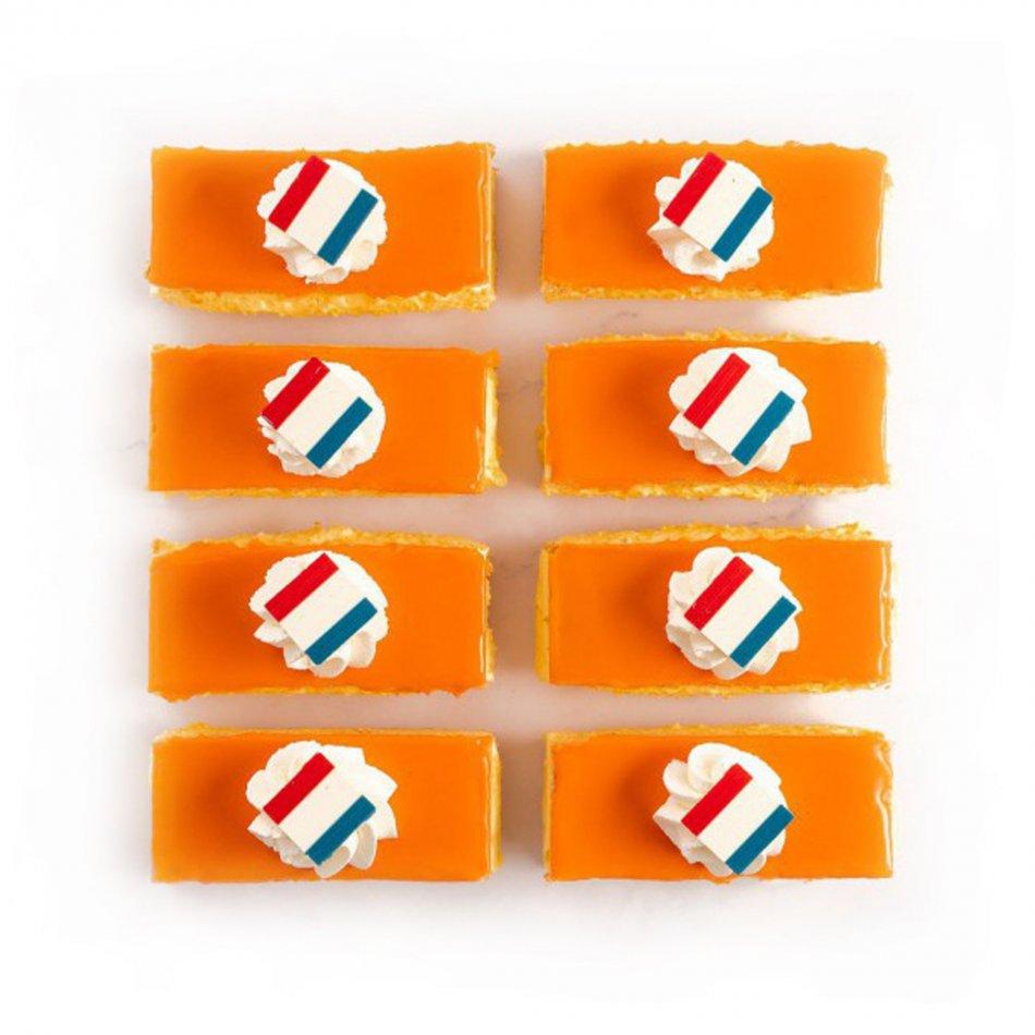 Oranje Tompoucen (10 stuks)